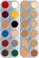 K Cream palette