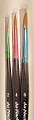 Synthetic 'Junior' Brushes (Set of 3)