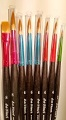 Synthetic 'Junior' Brushes (Set of 8)