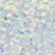 White Glitter Hair Spray - Large Image