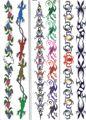 Metallic Arm Tattoos