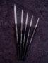 5 Brush Set, black handles