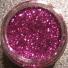Fuchsia glitter in screw pot