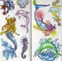 Mermaid & Dolphin Tattoos