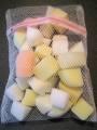 Sponge Assortment x 30 in net bag