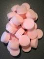 Pink Round Sponge x 30 - Large Image