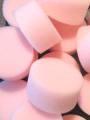 Pink Round Sponge x 15
