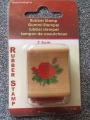 Small Rose Rubber Stamp