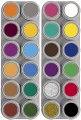 24 colour A&B water palette