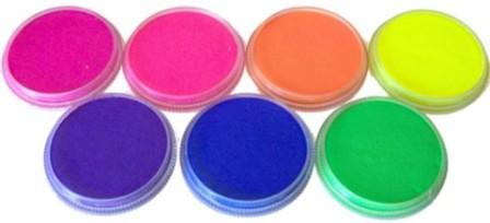 Diamond FX Neon (or UV) Paints Safety - Facepaint UK Blog
