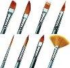 Set of 10 Silverline Brushes